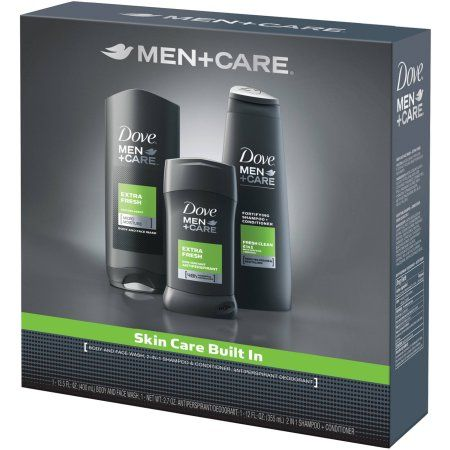 Dove Men+Care Extra Fresh Hygiene Kit, 3 ct