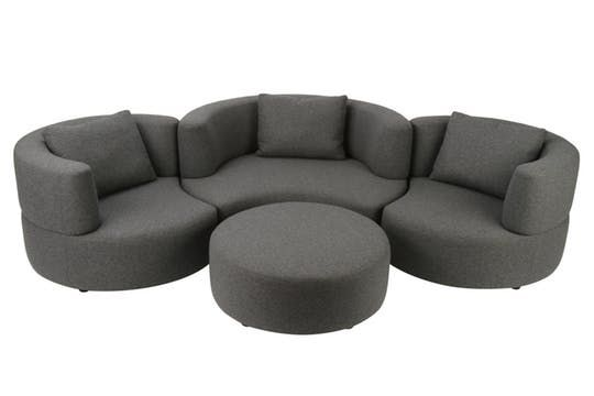 Dlush Media Group From Designlush  Contemporary, Upholstery  Fabric, Sofas  Sectional by New York Design Center