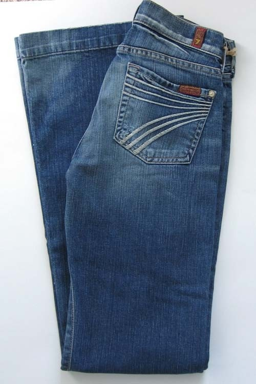 seven for all mankind jeans - dojo flare