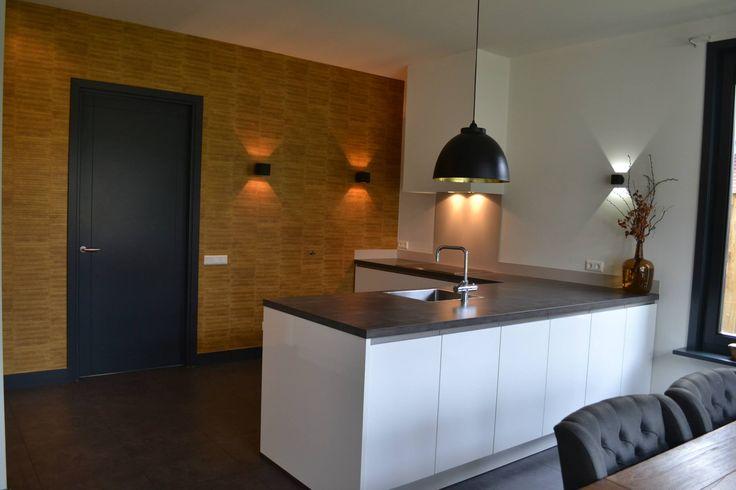 25 beste idee n over goud behang op pinterest behang geometrisch patroon ontwerp en - Keukenmuur deco ...