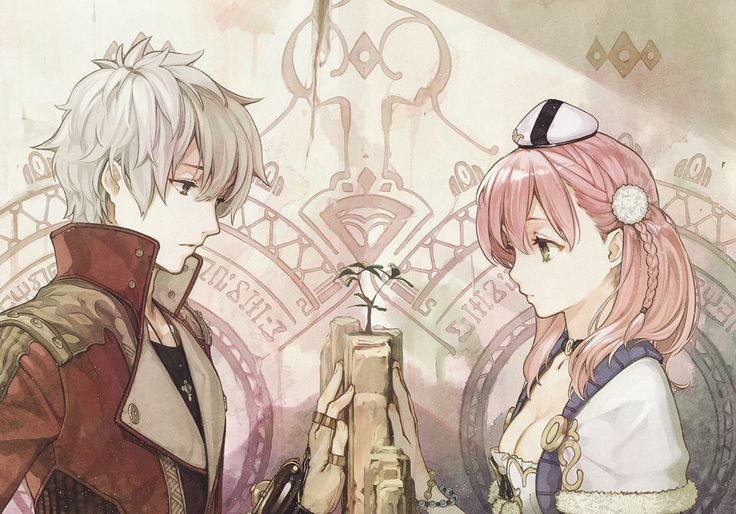 Atelier Escha & Logy: Alchemists of the Dusk Sky Art