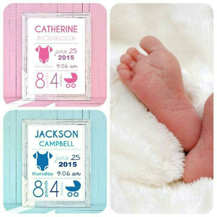 Gift Idea for a baby boy/girl! Idea regalo per la nascita!