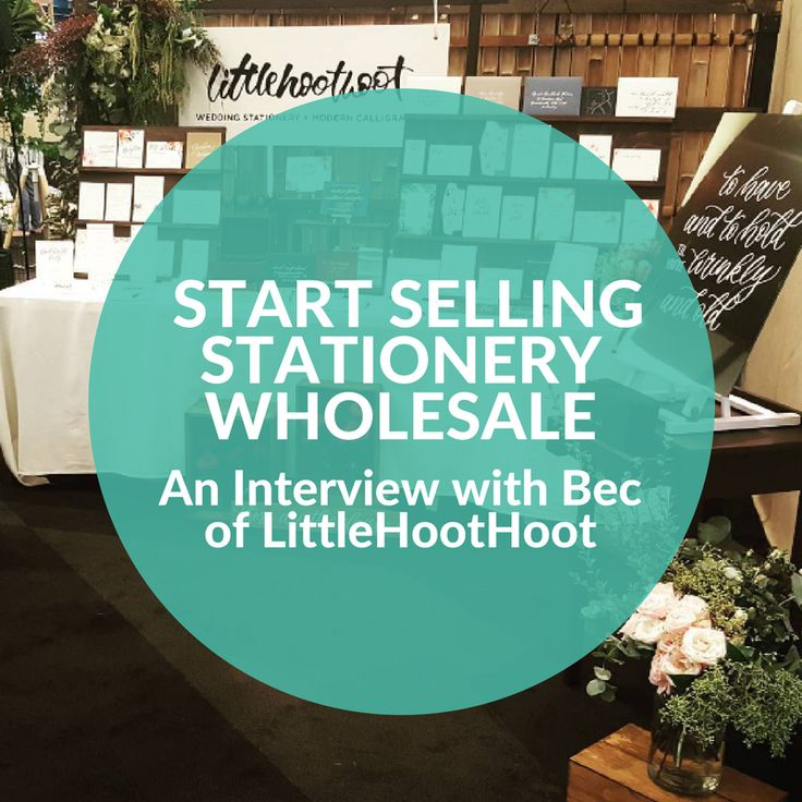 How to Start Selling Stationery Wholesale