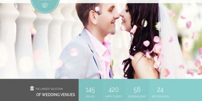 75+ Best HTML Wedding Website Templates of 2017
