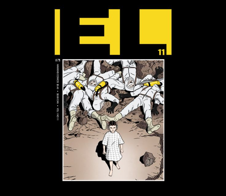 Mint version of the original Hawkins Comics Vol 1 No 11 @teefury