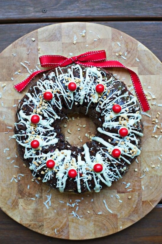 Rocky Road Christmas Wreath | The WHOot