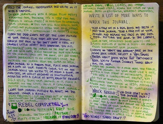 how to make an e journal