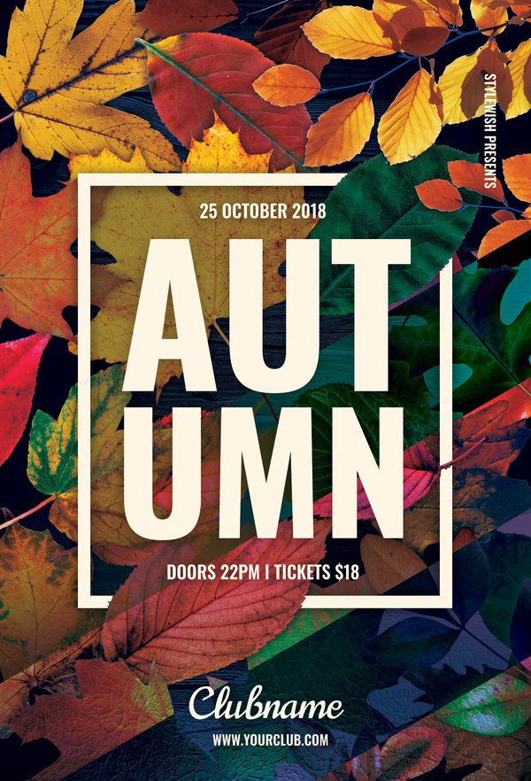 autumn flyer by stylewish download the psd design for 9 at