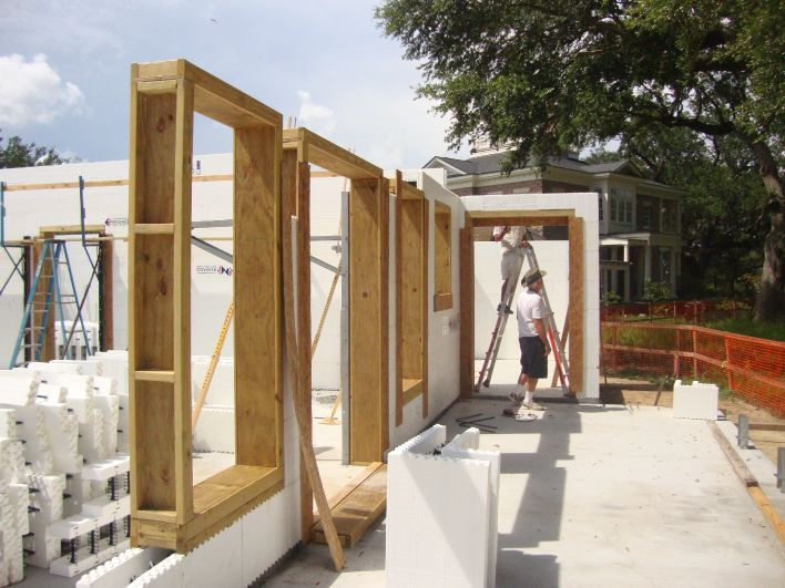 117 best images about icf walls on pinterest for Icf home construction