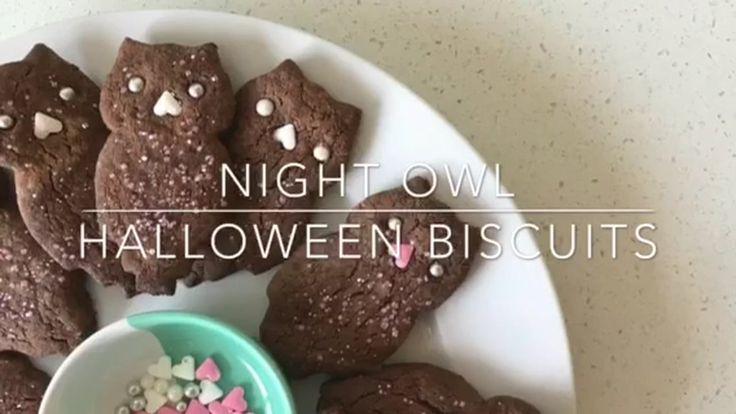 Night Owl Halloween Biscuits - What a treat! 🎃 #Halloween #mybestgift