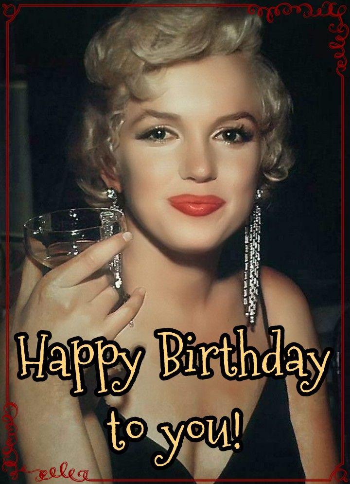 Happy Birthday Marilyn Monroe Happy Birthday Wishes Cards Happy Birthday Happy Birthday Greetings