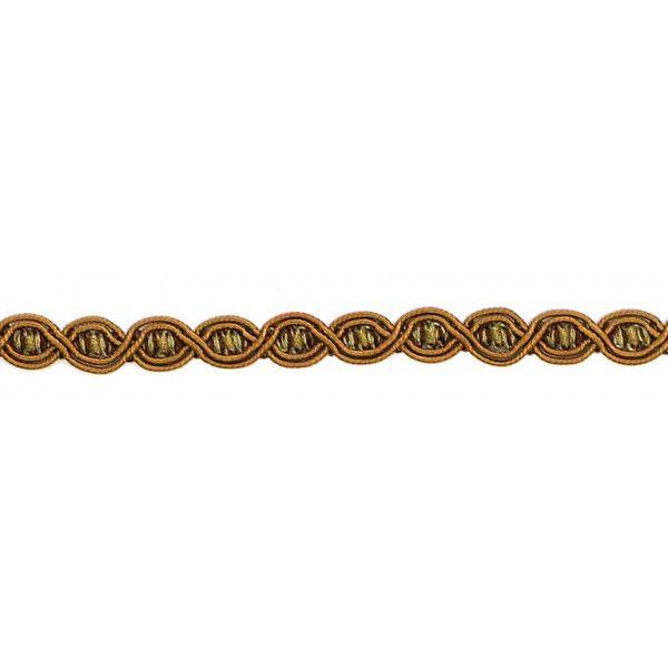 London Eye Braid - Colour. 7097 Copper/Brown