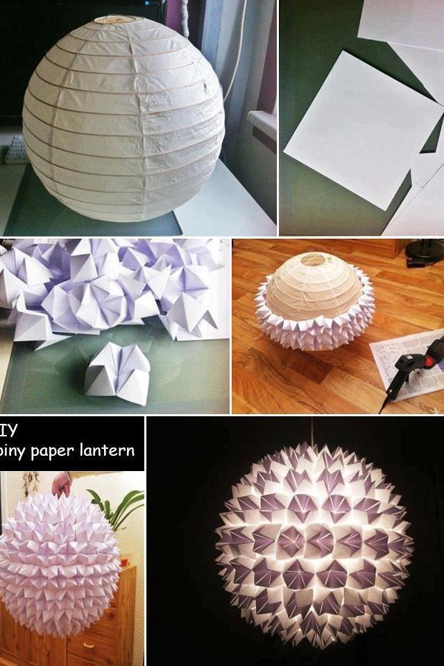DIY paper lantern 196 best Paper Lanterns