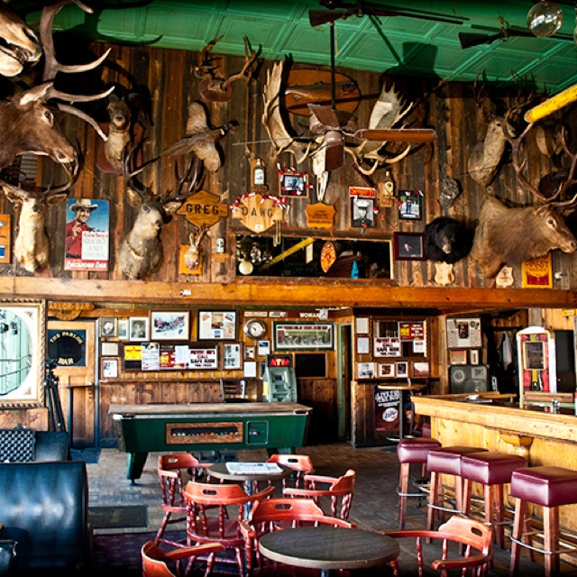 Buckhorn Bar, Laramie, Wyoming - LOL, oh the stories that people can tell...an iconic joint for many