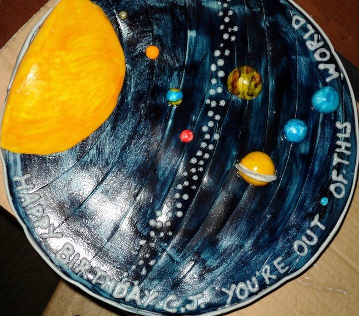Solar System Cookie Cake (page 2) - Pics about space