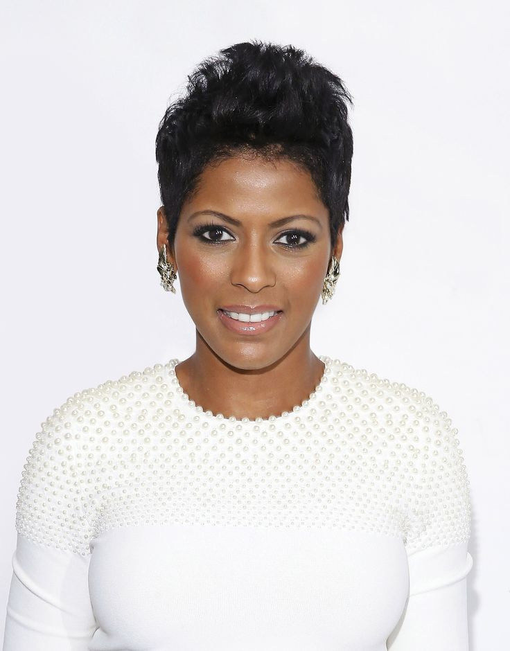"""""""The back is layered and the top is a few inches longer,"""" says hairstylist Johnny Wright of the cut he gave Tamron Hall.   - Redbook.com"""
