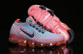 6b63a0a8a0e Nike Air Vapormax Flyknit 2019 Mens Womens Running Shoes Grey Orange Pink  Black AJ6900-601