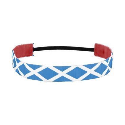 Non-Slip Headband with Flag of Scotland - accessories accessory gift idea stylish unique custom