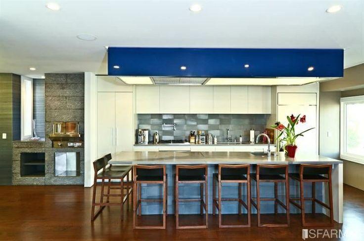 Cool, contemporary kitchen design