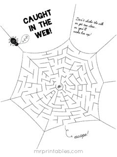 free mazes activities and other printables not a whole lot to choose from halloween kid - Halloween Printable Crafts For Kids 2