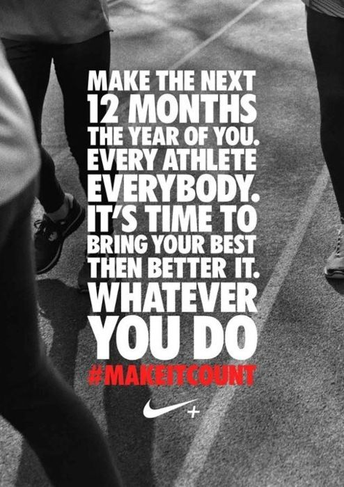 You can still achieve great success in the next 11 months.  January is gone whatever you may or may not have done.  Don't let one month stop you from working hard now.