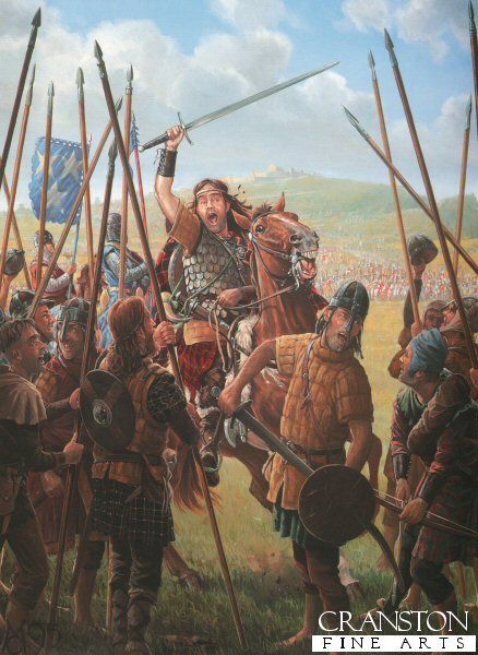 William Wallace Before the Battle of Stirling Bridge by Mark Churms. (Y)