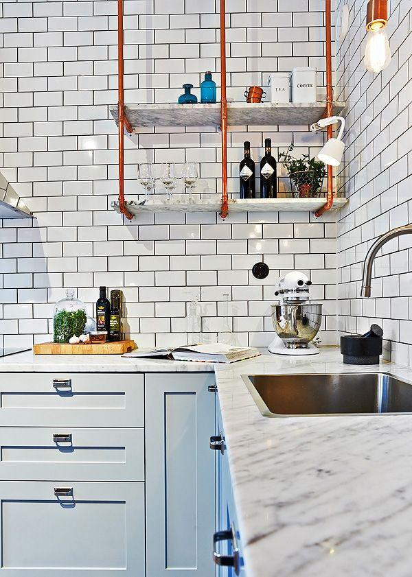 11x Scandinavische keukens waar wij best achter het fornuis willen staan - Roomed | roomed.nl
