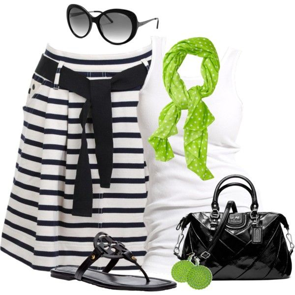 Summer OutfitCasual Outfit, Polka Dots, Black And White Dresses Shirts, Style, Closets, Clothing, Fashionista Trends, Summer Outfits, Limes