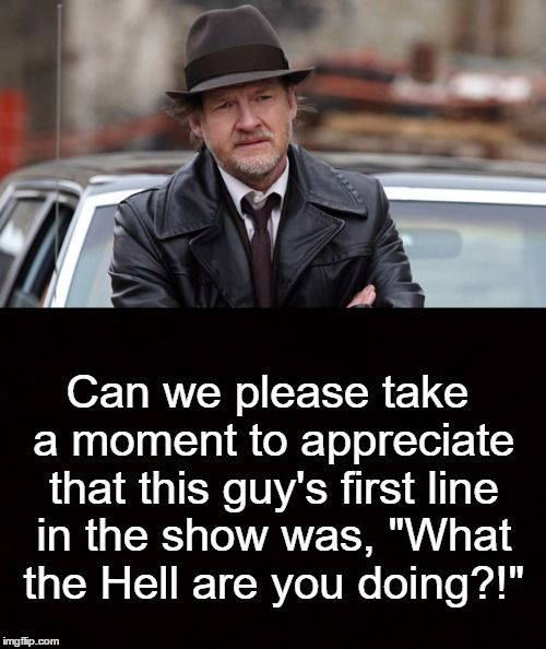 God Bless GOTHAM's Harvey Bullock