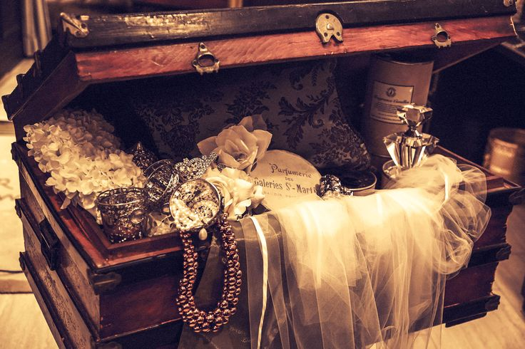 wedding Style vintage#WEDDING #TRUNK #OneHeart #coordinate #stylish #vintage