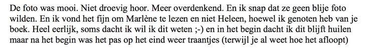 Een reactie op het ontroerend interview met auteur Johan Steenhoek in FD Persoonlijk (in de serie Verlies): 'Ik voelde me weduwnaar'. Johan verloor zijn vrouw, Marlène, na een hersenbloeding. Terwijl hij haar dagelijks bezocht en verzorgde in het verpleegtehuis, werd hij verliefd op een gezamenlijke vriendin. Over het verlies van zijn vrouw schreef hij het boek 'Heleen'. #heleen #johansteenhoek #roman #fdpersoonlijk #futurouitgevers