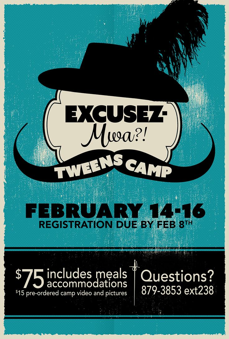 Poster design questions - Tweens Camp Poster Design By Www Brandandbrush Com Graphicdesign Kidscamp