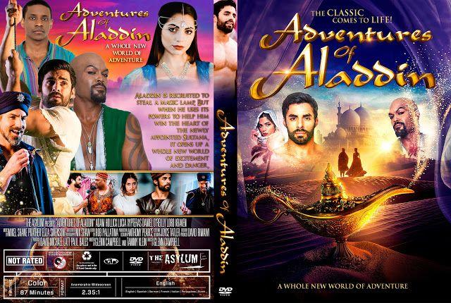 Adventures Of Aladdin Dvd Cover Aladdin Dvd Aladdin