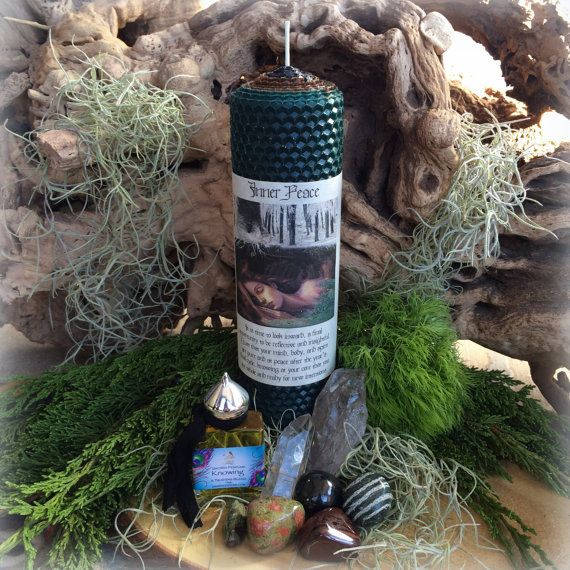 Inner Peace Ritual Set for the December Full Moon Ritual by TheSageGoddess