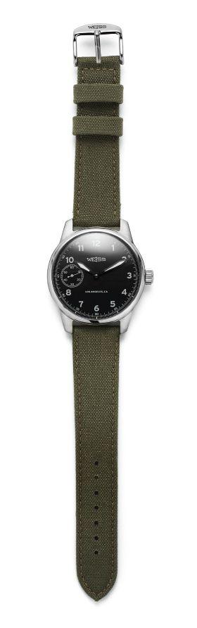 Weiss Field Watch (Black Dial) - Kaufmann Mercantile