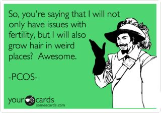 PCOS - illogical...