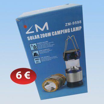 Φανάρι LED ηλιακής φόρτισης 6,00 €