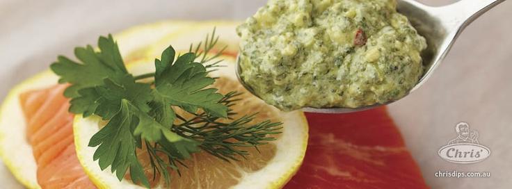 Spinach, Pinenut & Pecorino Salmon.  http://www.chrisdips.com.au/recipes/1522-paperbagroastedspinachpinenutapecorinosalmon