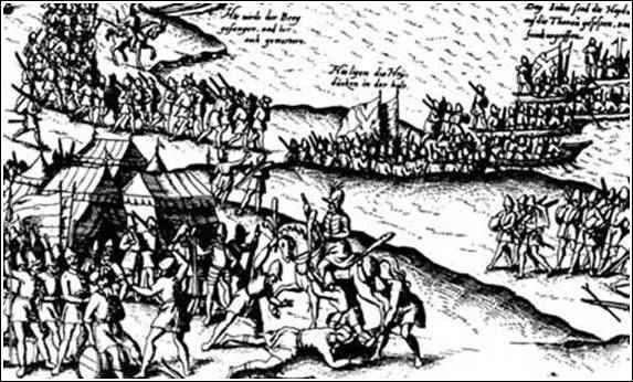 1599, Danube, detail