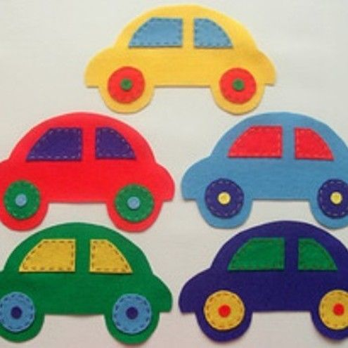 This is the car shape I want for the gift bags/craft bag idea