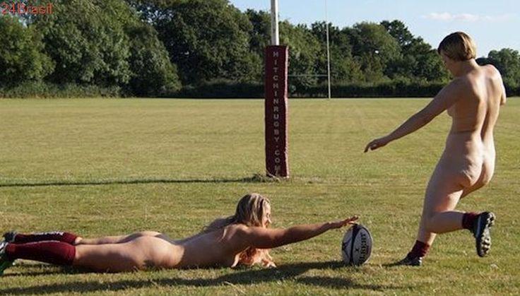 SUCESSO DE VENDAS: Meninas do rúgbi tiram uniforme e posam nuas para calendário