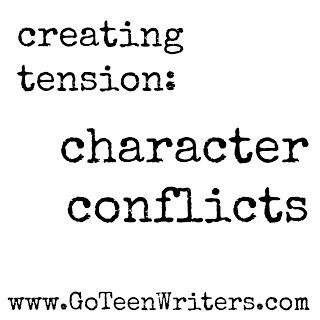 The number one way to fill your story with tension is to keep your characters constantly off balance. There should never be a moment when your characters--specifically your main character--isn't wrestling with something.