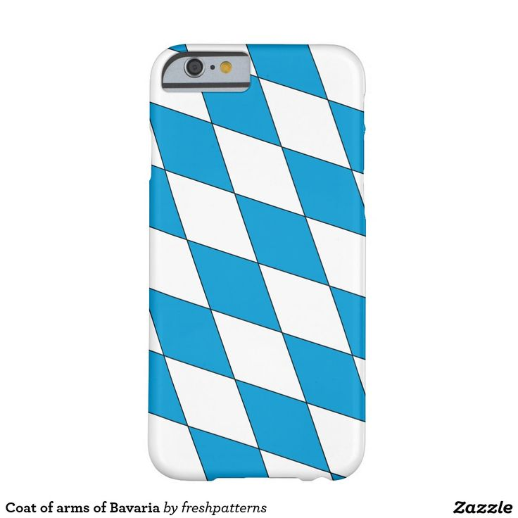 Coat of arms of Bavaria Barely There iPhone 6 Case