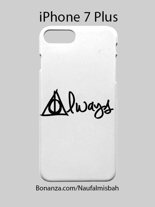 Harry Potter Always iPhone 7 PLUS Case Cover Wrap Around  PRODUCT DESCRIPTION  This new line of phone cases features a water transfer printing technology which produces much sharper images with vivid colors, prevents your pictures from chipping...