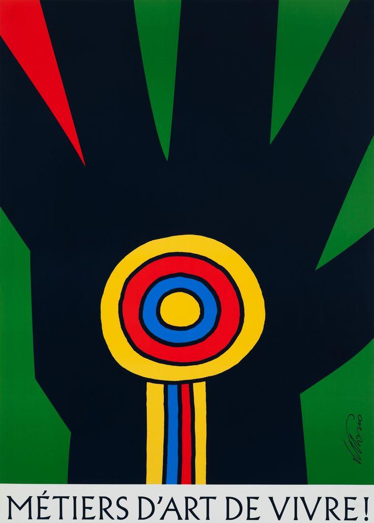 Vittorio Fiorucci - Métiers d'art de vivre !, Salon des métiers d'art de Montréal, 2000 - Prêt de la Collection de / Lent by the Collection of Judith Adams - Offset #VittorioMcCord