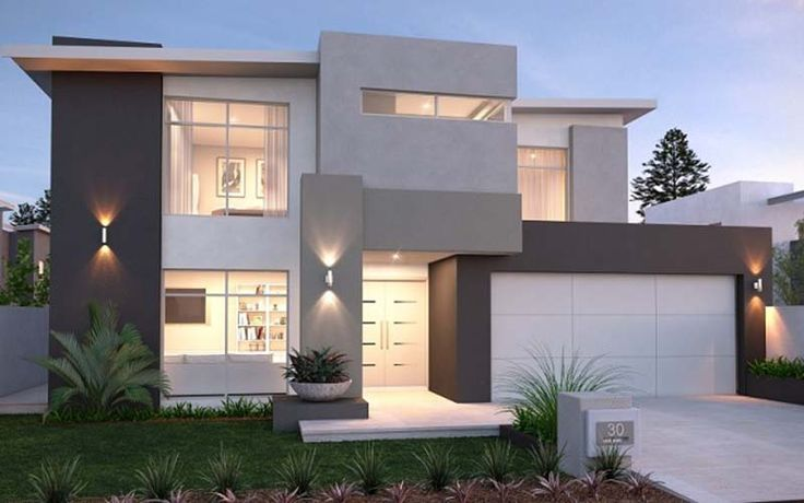 Contemporary house.