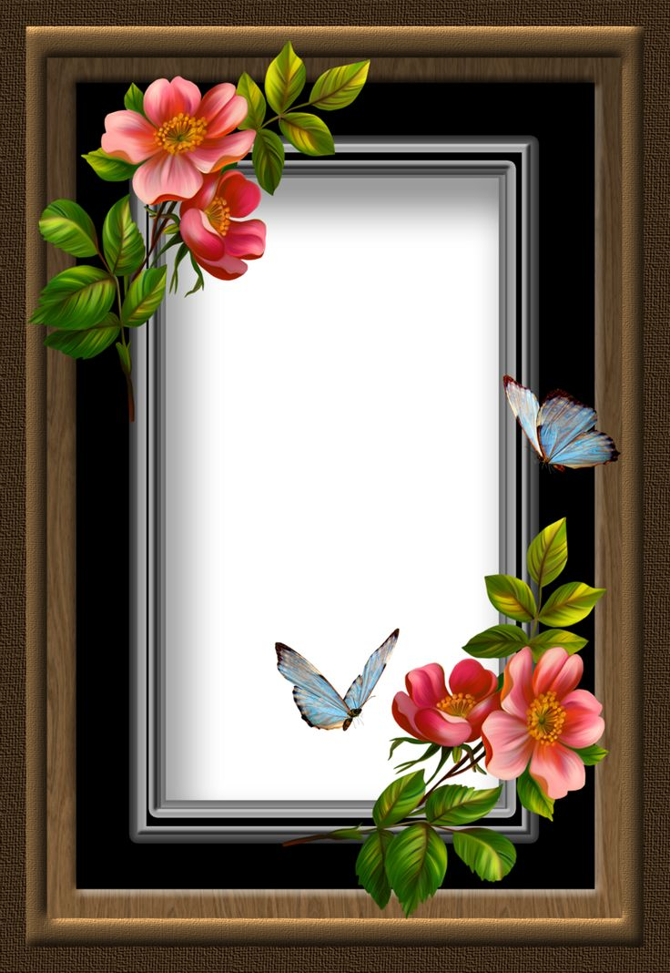 70 best FLOWERED MIRRORS &FRAMES images on Pinterest   Frames ...