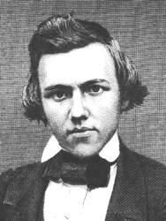 Paul #Morphy, regarded by some as the greatest (and/or most tragic) chess prodigy of all time.  Learn more about him and read what first World Chess Champ, Wilhelm Steinitz, had to say about Morphy:  http://interviewswiththemasters.com/wilhelm-steinitz-on-paul-morphy/