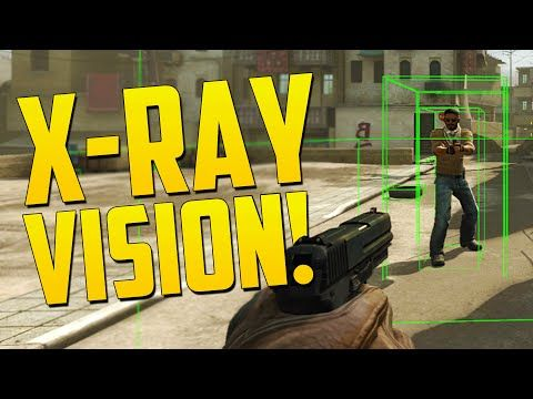 X-RAY VISION!  CS GO Overwatch Funny Moments