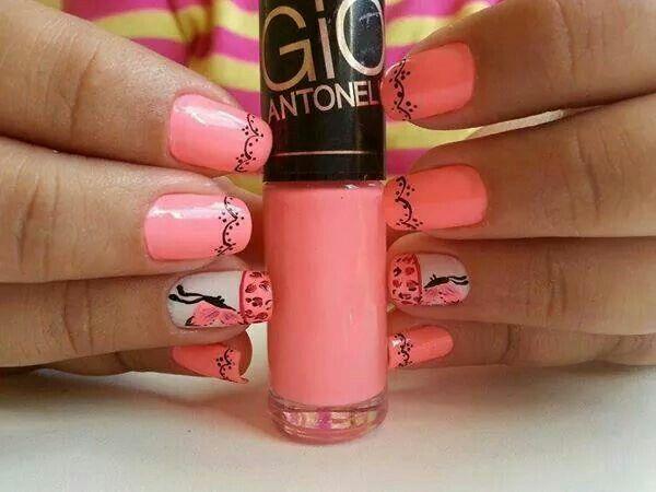Pink köröm